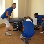Moving Chiropractor Equipment