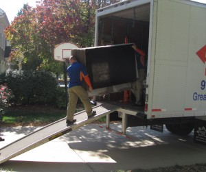 Movers Loading Truck