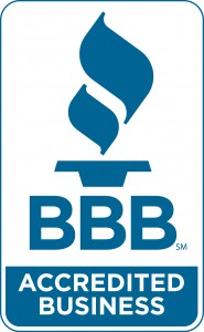 Blue BBB Accredited Business Logo